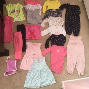 Other - Baby girl clothes sz 9 months (over 25 items)